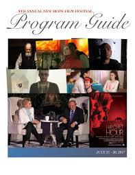 2017 program guide by new hope film festival issuu