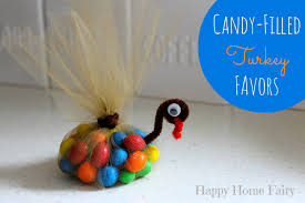 easy filled turkey favors happy home
