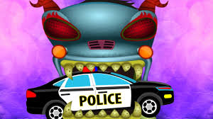 monster truck videos please haunted house monster truck police cars vs evil monster truck