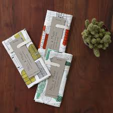fabric and long cardbaord printed tag packaging pinterest