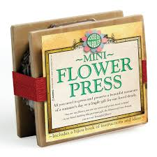 flower press mini flower press vintage craft house of marbles