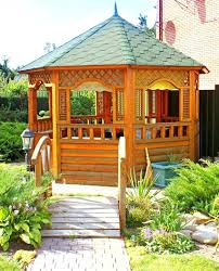 outdoor gazebo plans with fireplace designs for sale faedaworks com