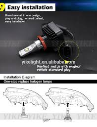 Fog Light Led Bulbs by 2700k 2400lm Led Fog Light H11 For Honda City Led Lights Buy