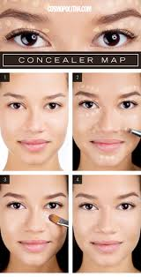 a handy roadmap to applying concealer makeup flawless skin and