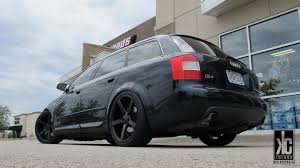 audi wagon black kc trends showcase vossen cv3 wheels custom painted matte