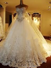 wedding dres sweetheart beading lace up watteau a line wedding dress