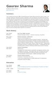 Over 10000 Cv And Resume by Mba Resume Example Mba Resume Template 11 Free Samples Examples