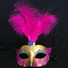 feather masks mini mask venetian masquerade feather mask party decoration