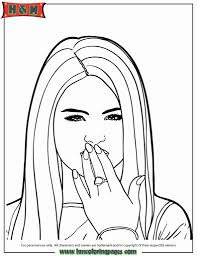 selena gomez coloring pages to invigorate to color pages cool