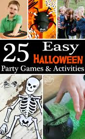 party games for halloween adults 25 easy halloween party games u0026 activities big ideas little cents