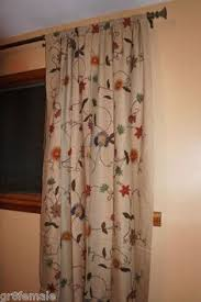 Pottery Barn Burlington Vt Margaritte Embroidered Drape Potterybarn Matches Our New Red