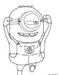 despicable me s minion for kids freedab4 coloring pages printable