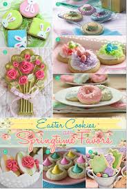 cute easter cookies to give as favors
