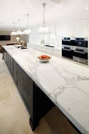 White Kitchens With Islands by Best 25 Quartz Countertops Ideas On Pinterest Quartz Kitchen