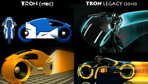 Tron Legacy Light Cycle Tron Vs Tron Legacy
