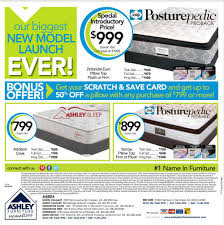 Ashley Furniture Card by Ashley Furniture Homestore Flyer Ab Mb Sk May 29 To June 8 Canada