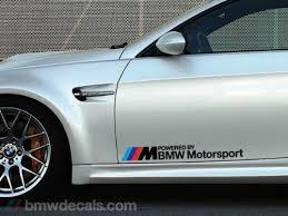 bmw motorsport bmw motorsport decals black