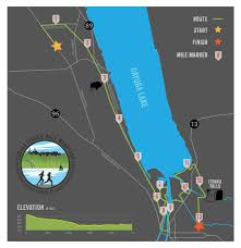 Ithaca Ny Map Red Newt Racing Gorges Ithaca Half Marathon Course