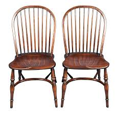 Country Dining Chairs Pair Of Ash Batheaston Stick Back Dining Chairs