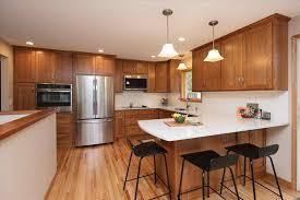 white quartz countertops with cherry cabinets deductour com