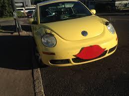 volkswagen bug yellow yellow lady bug