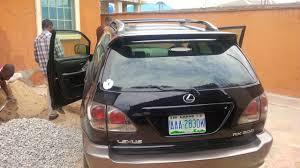 lexus rx300 for sale in nigeria sold neatly used lexus rx300 black 1 1m autos nigeria