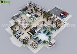 3d hospital floor plan layout design by yantram 3d floor plan