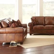 silverado loveseat u0026 sofa set caramel brown leather dcg stores