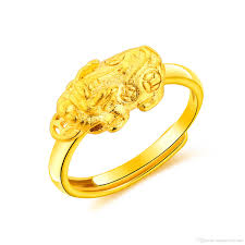 cheap gold rings images Online cheap classic gold ring women chinese traditional style jpg