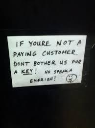 sign on the bathroom door at a local asian restaurant imgur
