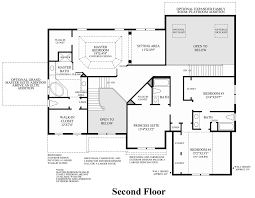Floor Plans For Large Homes by Woodlands At Warwick The Everett Home Design