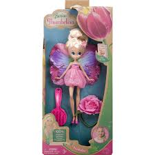 2008 barbie blooming thumbelina doll mattel ebay
