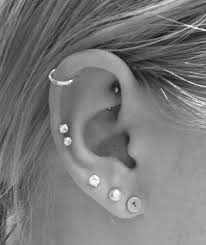 hoop cartilage piercing cartilage piercing facts precautions aftercare pictures