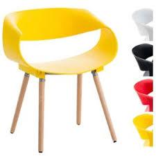 chaise loft clp chaise de visiteur tuva coque en plastique chaise de salle d