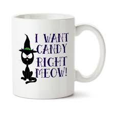 i want candy right meow cute mug cat cup funny cat cup coffee
