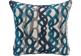 isofa basque turquoise accent pillows set of 2 isofa accent