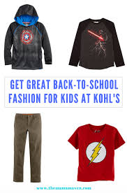 get great back to fashion for kids at kohl u0027s