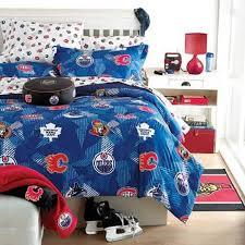 sears bed pillows nhl comforter set sears sears canada hockey bedroom