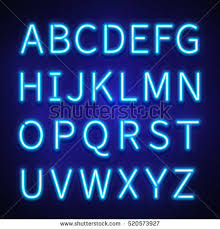 neon light font generator neon lettering font coles thecolossus co
