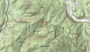 Vail Map Miller Hill Lookout Site Weyerhaeuser Vail Tree Farm