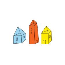 three houses tattly designy temporary tattoos three houses by judy kaufmann