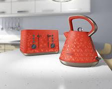 kettle u0026 toaster sets in main colour orange ebay