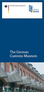 federal ministry of finance the german customs museum