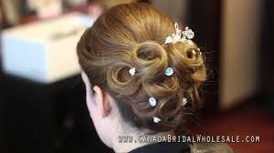 bridal hair pins how to up do crystal hair pins u0026 tiaras from