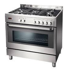 piano cuisine gaz cuisinière 5 feux gaz electrolux ekp90451x 90 x 60 cm inox prix