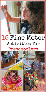 18 fine motor activities for preschoolers mess for less