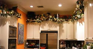 top of kitchen cabinet christmas decorating ideas nrtradiant com