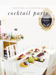 christmas cocktail party hosting a christmas cocktail party sara du jour