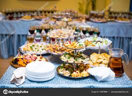 Restaurant Buffet Table by Buffet Table Canape Sandwiches Snacks Holiday Table Sliced