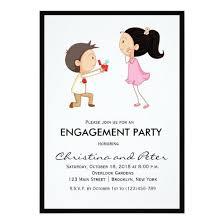 Engagement Party Invites Cute Cartoon Engagement Party Invitation U2013 Invitations 4 U